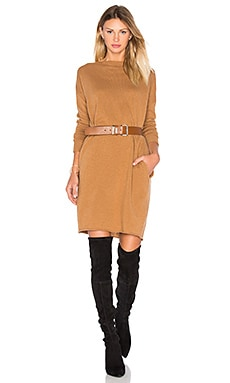 Lila Sweater Dress in Camel