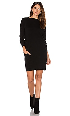 DemyLee Lila Sweater Dress in Black