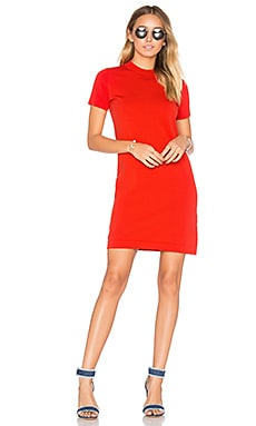 Maxton Sweater Dress in Poppy Red