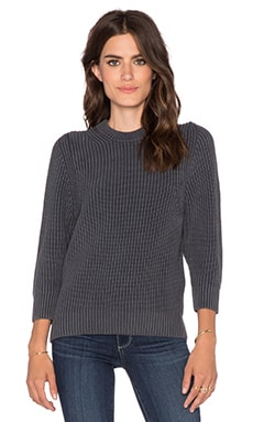 DemyLee Aubrey Sweater in Dark Grey