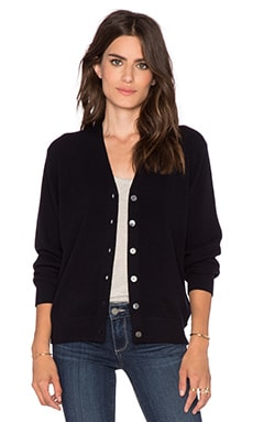 DemyLee Beatrice Cardigan in Navy