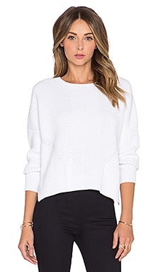 DemyLee Amber Sweater in White