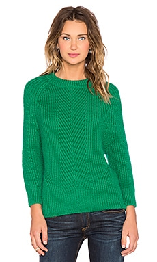 DemyLee Chelsea Sweater in Kelly Green