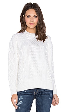 DemyLee Milena Sweater in White