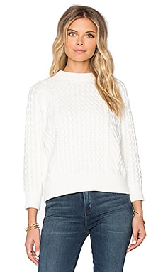 DemyLee Elsa Sweater in Off White