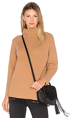 Rita Turtleneck Sweater en Camel