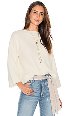 DemyLee Daphne Sweater in White