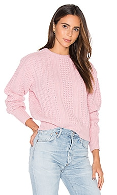 Renee Sweater en Rose Blush
