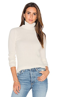 DemyLee Ginny Turtleneck Sweater in White