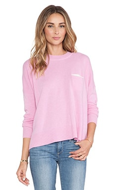 Bennie Cashmere Sweater in Pink
