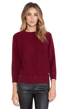 DemyLee Minnie Sweater in Burgundy