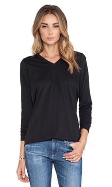 DemyLee India Long Sleeve Tee in Black