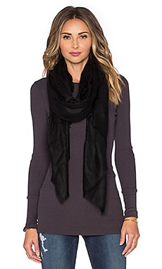 DemyLee Cashmere Tissue Scarf in Black