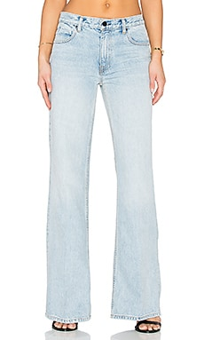 Alexander Wang Rave Wide Leg Jeans in Bleach