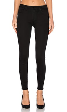 DENIM x ALEXANDER WANG Whip Skinny Jean in Stay Black