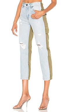 Купить Прямые джинсы slack - DENIM x ALEXANDER WANG цвет none