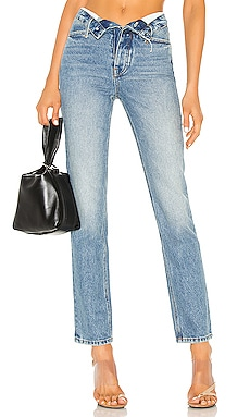 JEAN DROIT CULT FLIP IN DENIM x ALEXANDER WANG $295