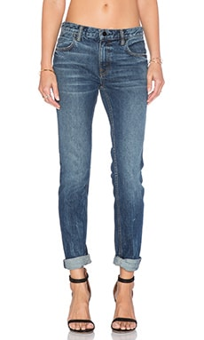 DENIM x ALEXANDER WANG Relaxed Jean in Medium Indigo