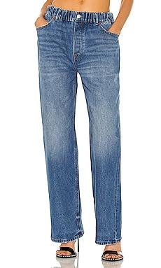 Oversized Elastic Waist Pant DENIM x ALEXANDER WANG $395