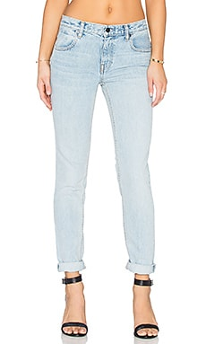 DENIM x ALEXANDER WANG Wang 002 Relaxed Jeans in Bleach