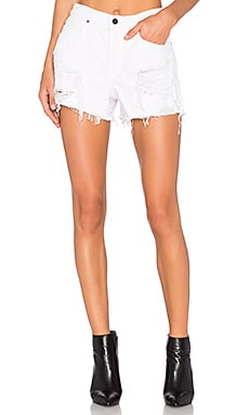 Romp Oversized Short in Wisteria