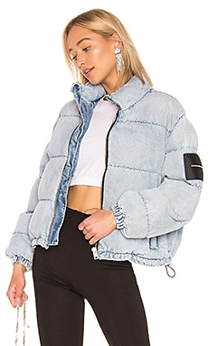 Puffer Jacket DENIM x ALEXANDER WANG $695 Collections