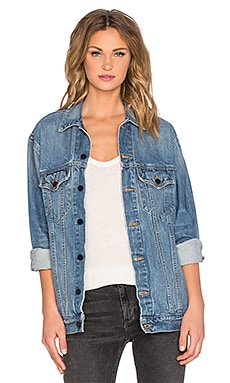 Daze Oversized Jean Jacket