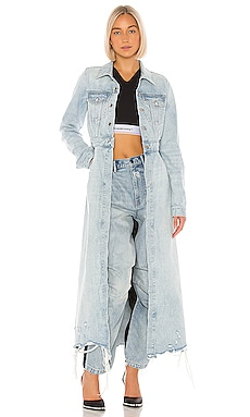 Fitted Trench DENIM x ALEXANDER WANG $795