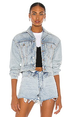 Lapel Collared Jacket DENIM x ALEXANDER WANG $450