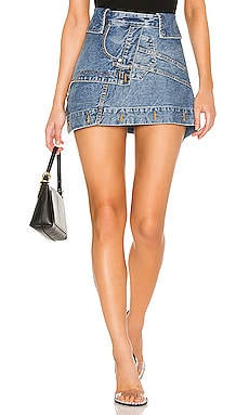 Deconstructed Skirt DENIM x ALEXANDER WANG $295 Collections