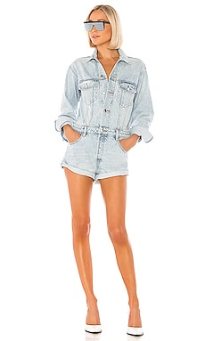 COMBISHORT DENIM x ALEXANDER WANG $595 BEST SELLER
