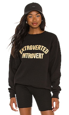 EXTROVERTED INTROVERT 크루넥 DEPARTURE $62