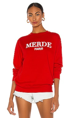 SWEAT MERDE DEPARTURE $72 BEST SELLER