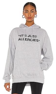 Just Allergies Oversized Hoodie DEPARTURE $80