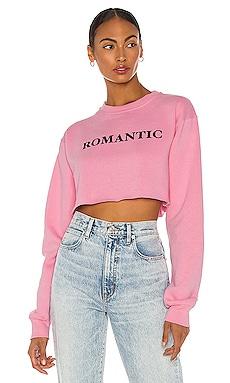 x REVOLVE Romantic Cropped Sweatshirt DEPARTURE $88