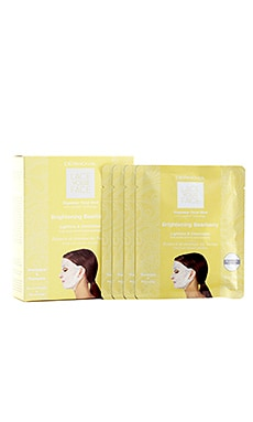 Brightening Bearberry Lace Your Face Mask 4 Pack Dermovia $55