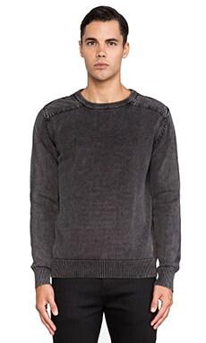 Deus Ex Machina Cigar Sweater in Black