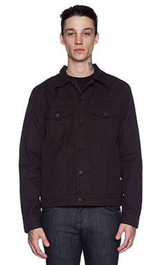 Deus Ex Machina Ronald Jacket in Black
