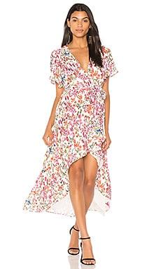 Платье с запахом pax - devlin от REVOLVE INT