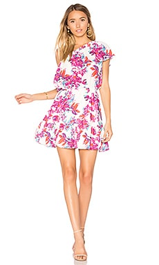 Thea Dress in Watercolor Flowers