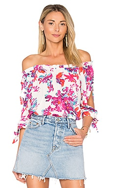 Sienna Blouse in Watercolor Flowers