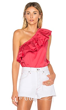 Vanessa Top in Carmine