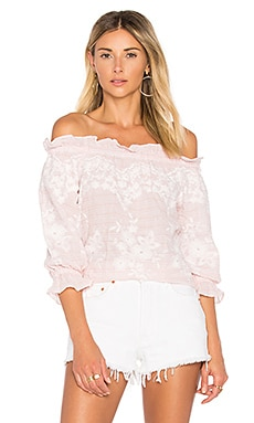 Renee Blouse in Blush