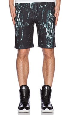 D. Gnak D by D Marble Shorts in Black