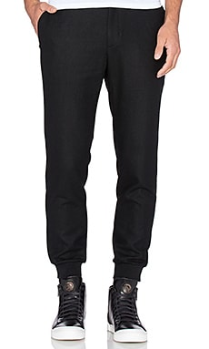 D. Gnak D by D Woven Jogger Pants in Black