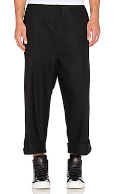 D. Gnak D by D Wide Baggy Pants in Black