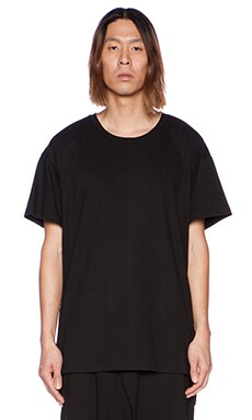 D. Gnak Back Reflected Tee in Black