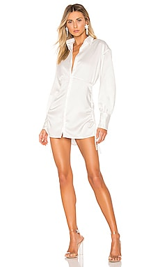 Ruched Shirt Dress DANIELLE GUIZIO $610 BEST SELLER
