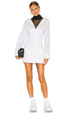 Oversized Shirting Corset Dress DANIELLE GUIZIO $340