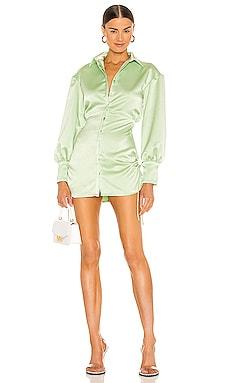 Ruched Button Up Dress DANIELLE GUIZIO $388